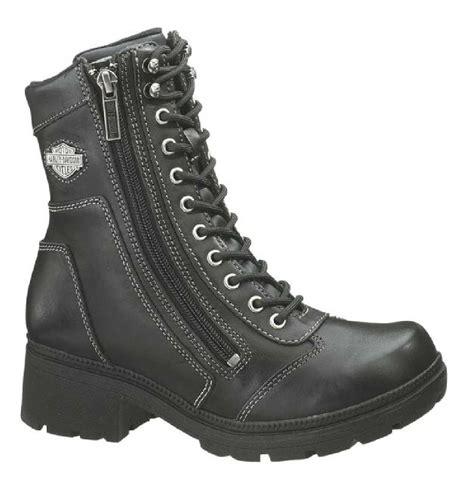women s lightweight motorcycle boots harley davidson women 39 s tessa 6 inch lace up side zip