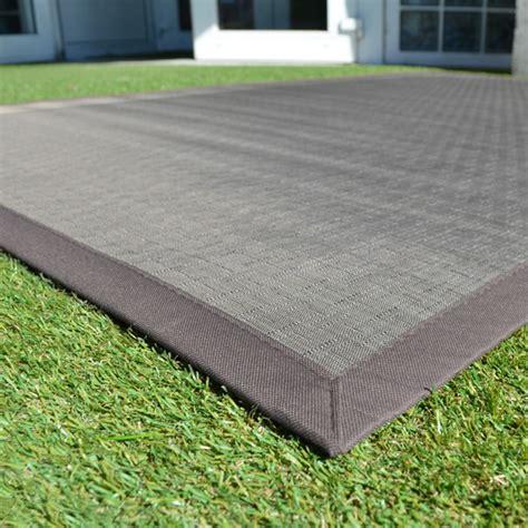 tapis ext 233 rieur pvc tress 233 taupe 120 x 180 cm