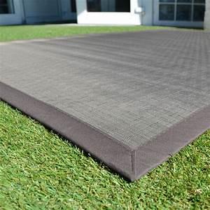 Tapis Antidérapant Exterieur : tapis ext rieur pvc tress taupe 120 x 180 cm ~ Edinachiropracticcenter.com Idées de Décoration