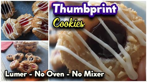 An old fashioned cookie but a classic and incredibly delicious! RESEP KUE KERING LEBARAN 2020 - THUMBPRINT COOKIES dengan Selai Strawberry dan Blueberry - YouTube