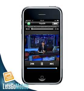 from iphone to tv apple iphone live mobile tv letsgo mobile