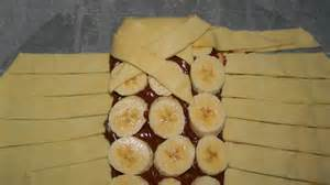tarte a la banane pate feuilletee tresse p 226 te feuillet 233 e chocolat banane facile rapide simple cuisine familiale