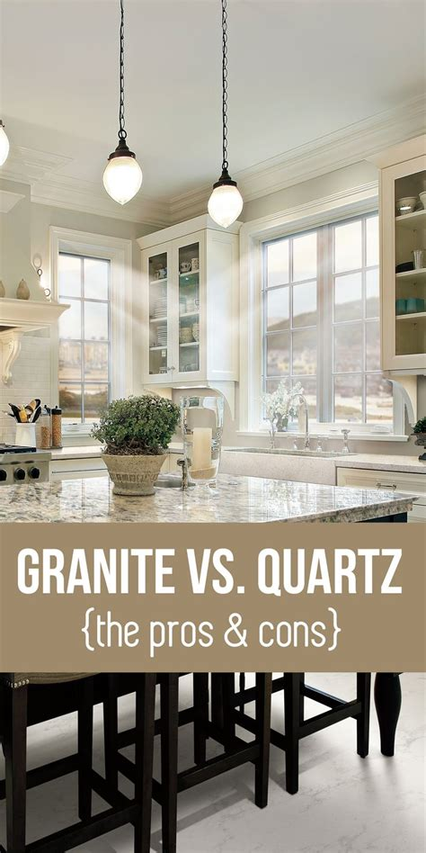 quartz countertops cons granite vs quartz countertops learn the pros and cons