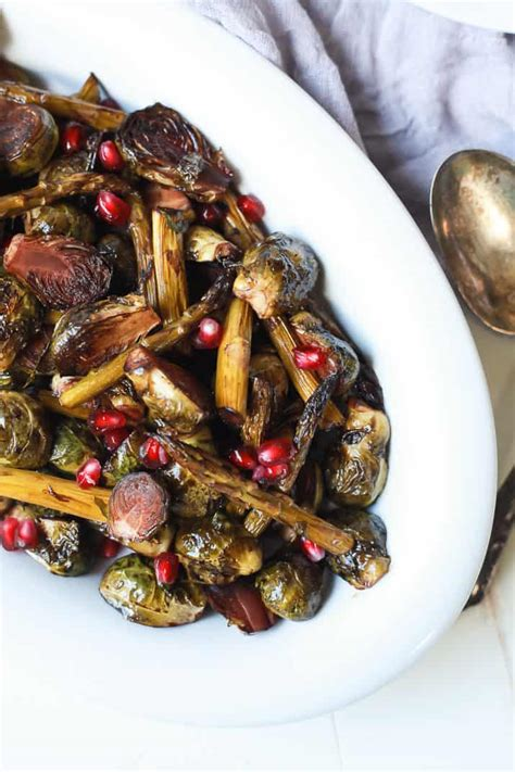 balsamic roasted brussels sprouts asparagus easy