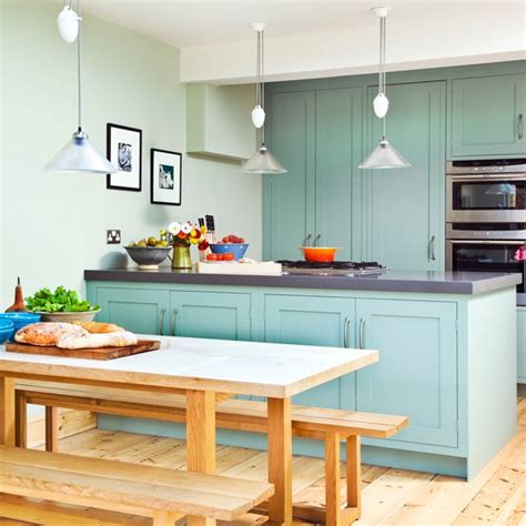 teal kitchen ideas kitchen with bold green cabinetry green kitchen colour