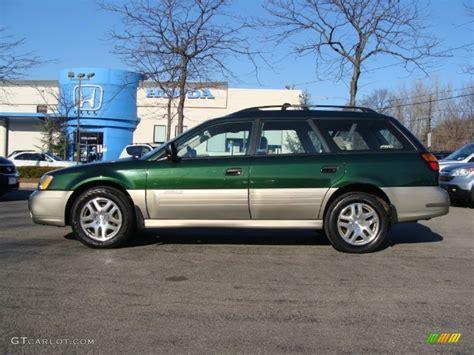 2002 Timberline Green Subaru Outback Wagon 59375966 Photo