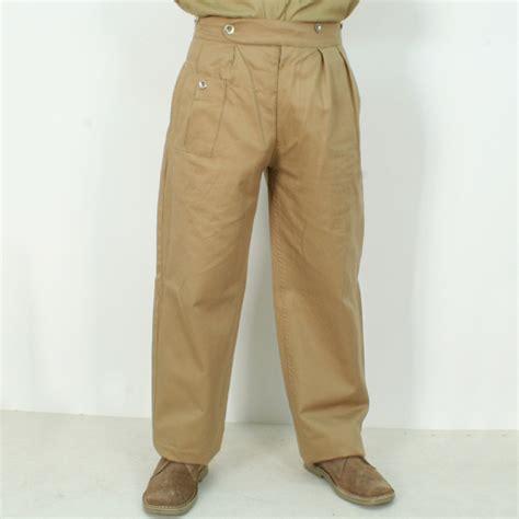 side panel trousers ww2 khaki drill kd trousers