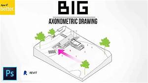 Big  Bjarke Ingels  Axonometric Drawing Tutorial