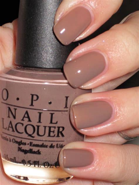 nails nail opi colors polish paint skin taupe shades autumn fall dark brown season light fingernails tone polishes beauty hair