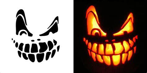 scary pumpkin templates 5 best scary pumpkin carving stencils 2013