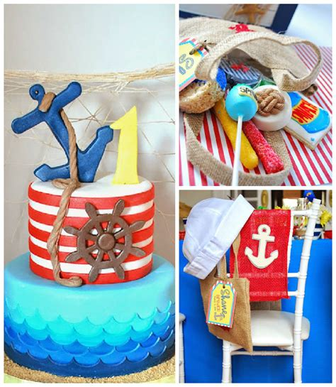 birthday party ideas 1st birthday party ideas kara 39 s party ideas popeye sailor themed birthday party