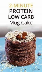 2 minute flourless protein mug cake chocolate recipe