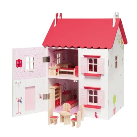oxybul cuisine en bois maison de poupées meublée en bois oxybul pour enfant de 4 ans à 8 ans oxybul éveil et jeux