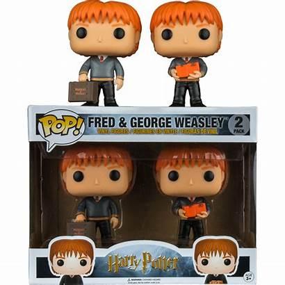 Pop Potter Harry Weasley Fred Funko George