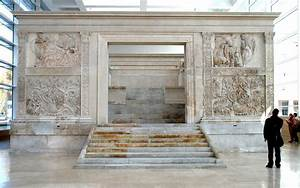 The Ara Pacis - the Altar of Peace -Barbarism and Civilization