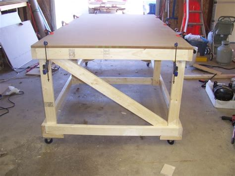 rolling work bench woodworking talk woodworkers
