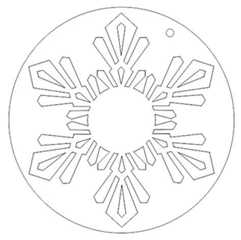 create  snowflake ornament  corel