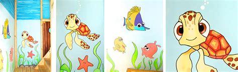 wandgestaltung kinderzimmer unterwasserwelt sweetwall wunschmotive f 252 r deine wand wandmalerei f 252 r