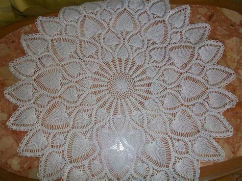 napperons crochet tricot