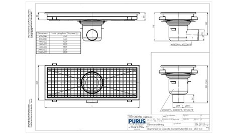 floor l assembly instructions purus channel 200 concrete flooring l15 mid outlet