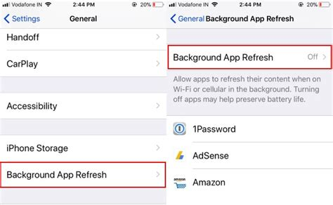 how to manage apps on iphone how to manage background app refresh on iphone and