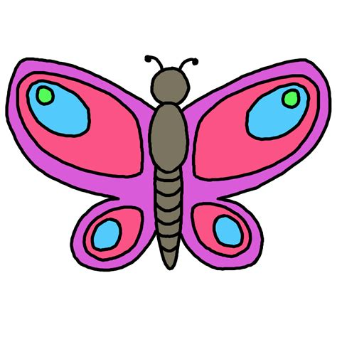 Butterfly Clip Free Butterfly Clipart Or Clipart Panda Free Clipart