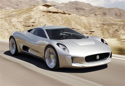 Jaguar Unveils The New C-x75 Phev Supercar