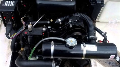 volvo penta  fresh water cooling system youtube