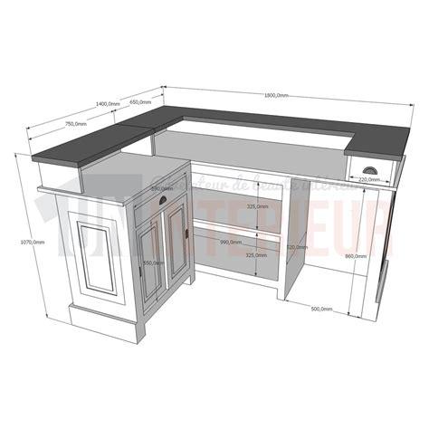 hauteur d un bar de cuisine hauteur standard comptoir 28 images id 233 e cuisine c