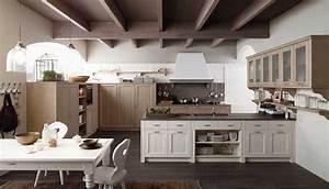 Cucine country una scelta di stile cose di casa for Cucine con tetto ribassato