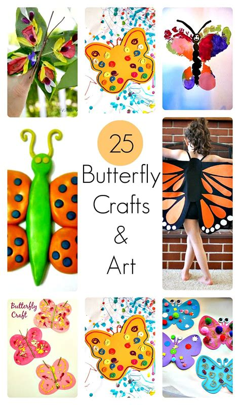 Butterfly Arts and Crafts Activities