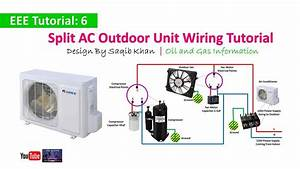 Split Ac Outdoor Unit Wiring Tutorial