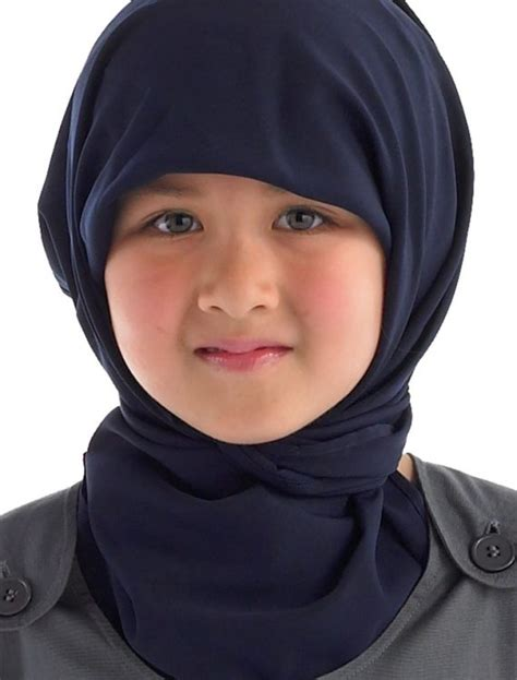 rectangle hijab navy shop  discount price islamic clothing