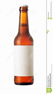stock photos beer bottle with blank label and With blank beer labels