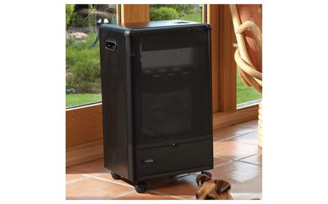 Gas Cabinet by Lifestyle Black Cat Catalytic Gas Cabinet Heater In Black