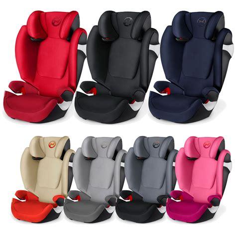 cybex solution s cybex solution s fix 2 3 r44 04 isofix child car seat ebay