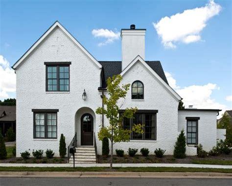 White Brick Exterior Home Design Ideas, Pictures, Remodel
