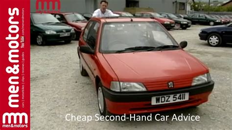 second hand car prices peugeot cheap second hand car advice 1996 peugeot 106 youtube