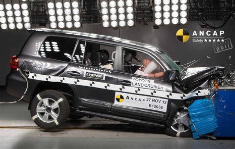 toyota landcruiser aug  onwards crash test results