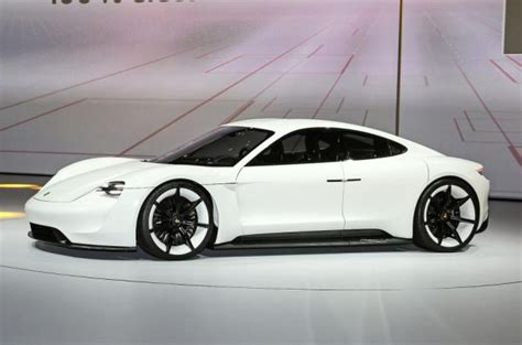 porsche electric mission e 2019 2020 porsche mission e electric car sedan price pics