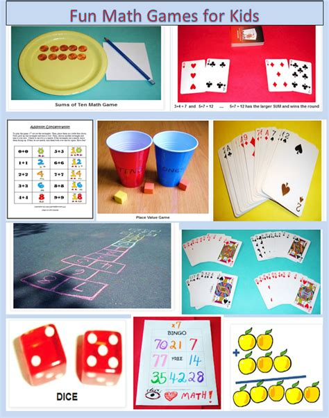 Pictures On Children Math Games,  Easy Worksheet Ideas