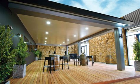 House Patio Designs by Pavilion Outdoor Living Patio By Stratco Architectural