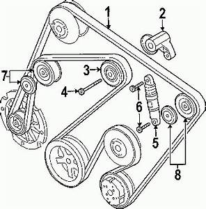 2006 Porsche Cayenne Turbo V8 4 5l Serpentine Belt Diagram
