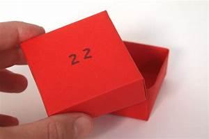 Geschenkbox Selber Basteln : adventskalender aus papierschachteln ~ Watch28wear.com Haus und Dekorationen