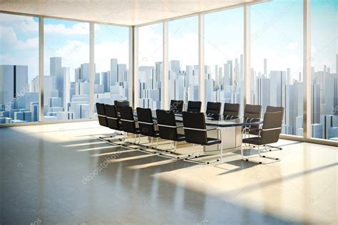 Moderne Bürointerieur Mit Schönen Wurm Tageslicht Und