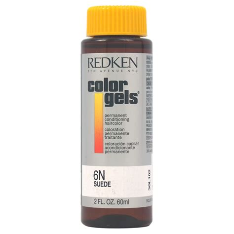 6n hair color redken color gels permanent conditioning haircolor 6n