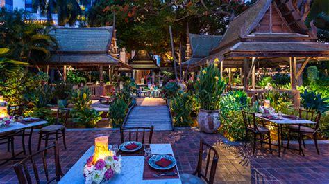 Garden Decoration Bangkok by Thiptara Thai Restaurant The Peninsula Bangkok