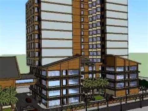 perancangan arsitektur  faizal  hotel konsep