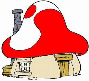 and a few smurf houses | Şirinler | Pinterest ...