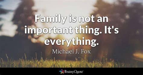 michael  fox family    important